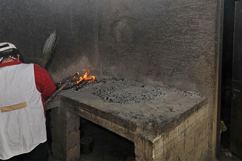 pečenje pod žeravom